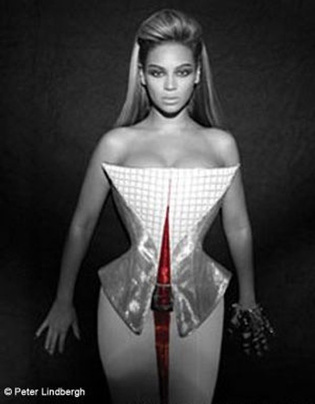 Beyonce, habillée par Thierry Mugler