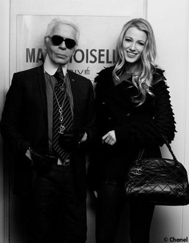 Blake Lively chez Chanel : plus qu'un rêve !