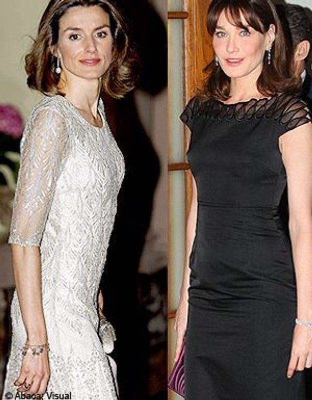Carla Bruni et Letizia d'Espagne : un duel attendu !