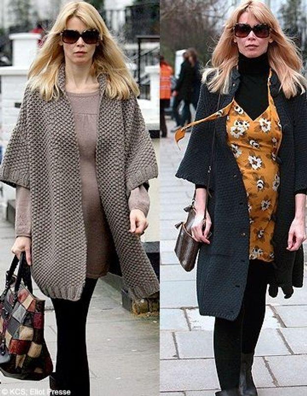 Claudia Schiffer : ses looks de femme enceinte
