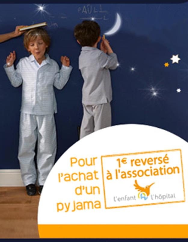 Cyrillus soutient l'association « L'enfant @ l'hôpital »