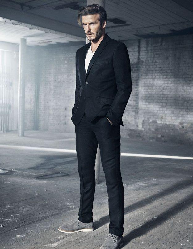 David Beckham présente sa première collection pour H&M