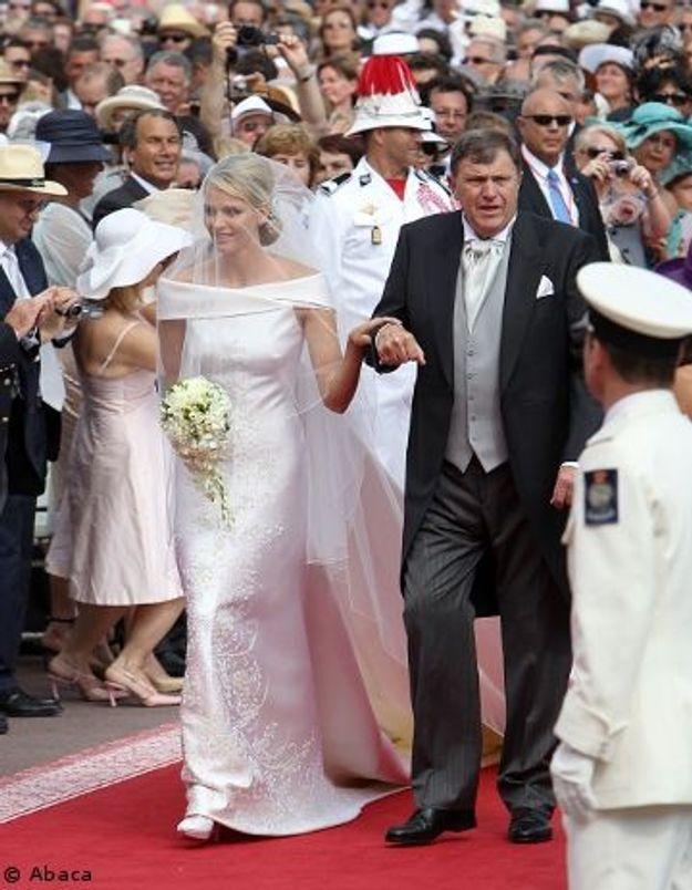 Découvrez la robe de mariée de Charlene de