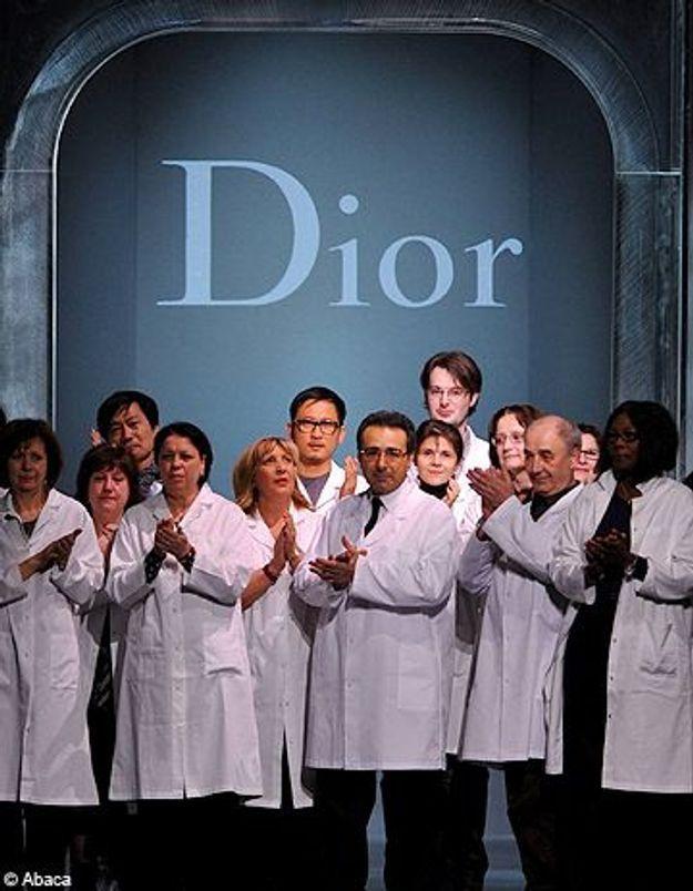 Défilé Dior sans John Galliano : standing ovation pour l'équipe