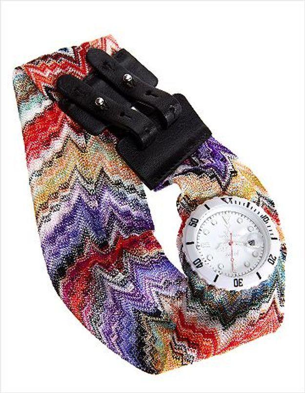 Des montres Toywatch aux imprimés Missoni