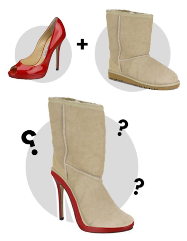 Des Ugg sur talons : les it-shoes de l'hiver prochain ?