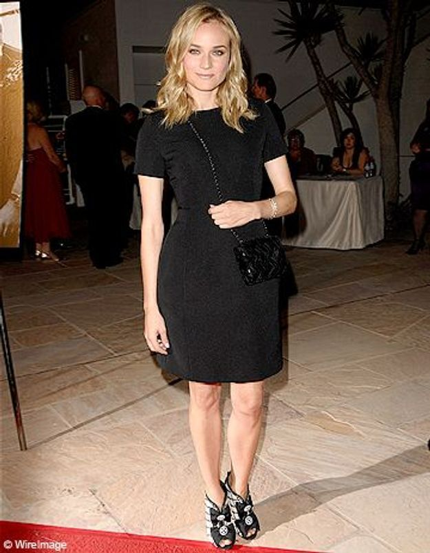 Diane Kruger adepte du « black is beautiful »