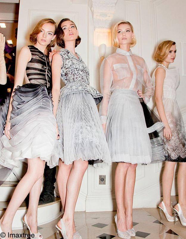Dior : le premier défilé de Raf Simons en live sur Elle.fr