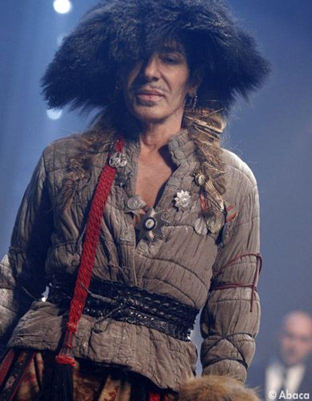 Dior va licencier le styliste John Galliano