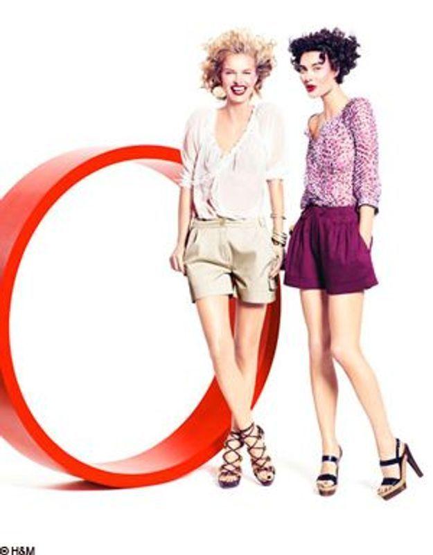 Eva Herzigova, Shalom Harlow et Vincent Gallo s'éclatent en H&M