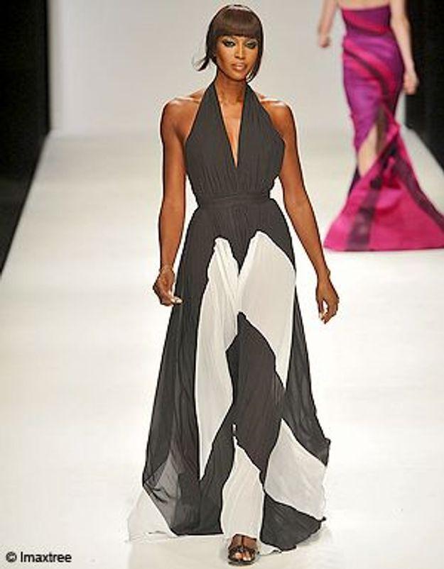 Fashion Week à Londres : Naomi Campbell toujours au top