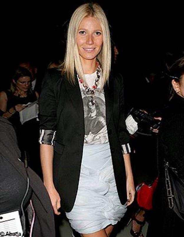 Fashion Week Londres : Gwyneth Paltrow, privilégiée !