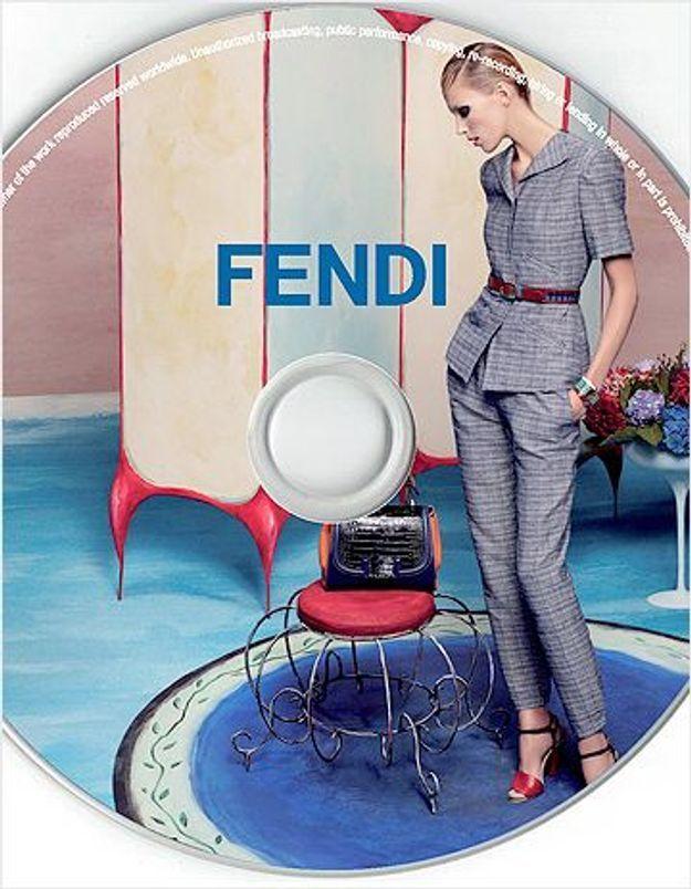 Fendi lance sa première compil'musicale