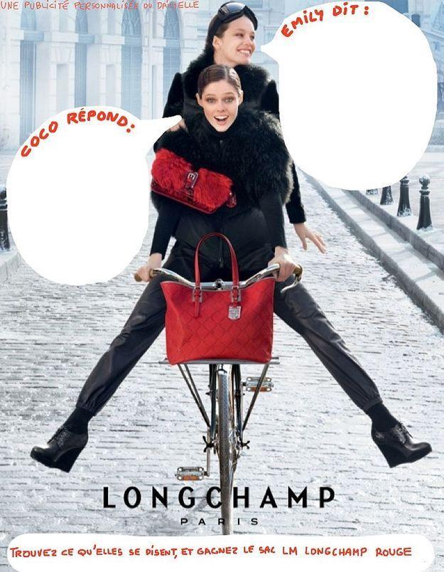 Gagnez un sac Longchamp sur le « dailyELLE »