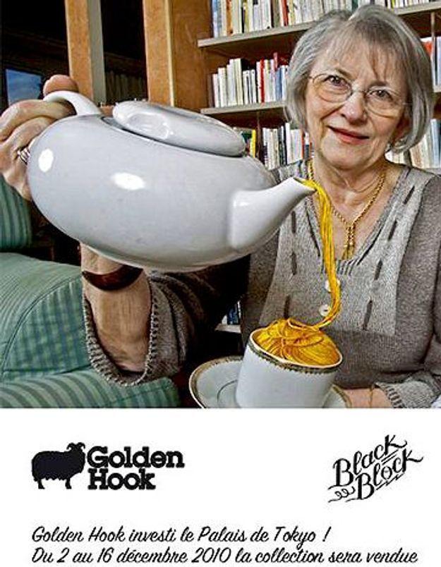 Golden Hook s'invite au Palais de Tokyo