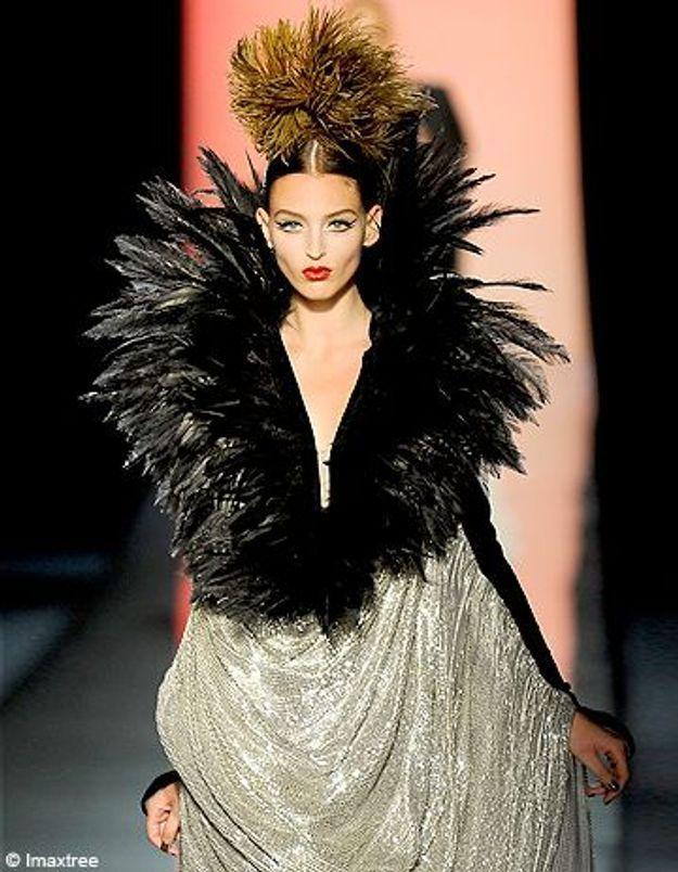 Haute couture printemps-été 2012 : Versace revient à Paris