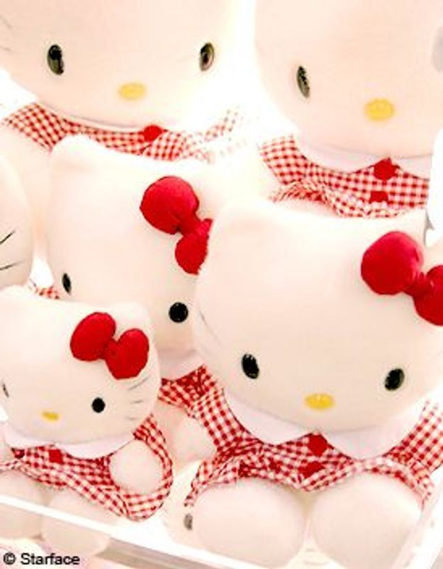 Hello Kitty relookée pour ses 35 ans