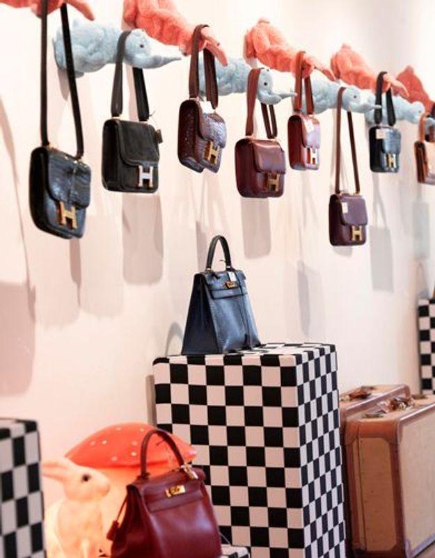 Hermès Vintage   vente aux enchères au rond-point des Champs Elysées ... ec753dfbc61f