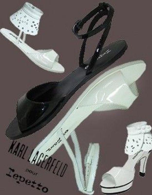 J -1 : Karl Lagerfeld pour Repetto en boutique demain à midi