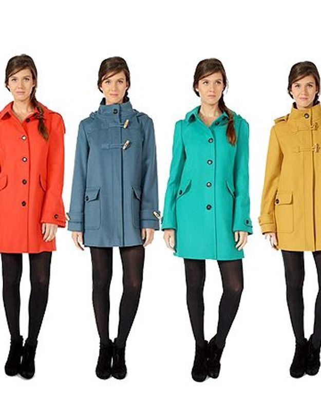 Je veux un manteau customisé pour la rentrée !