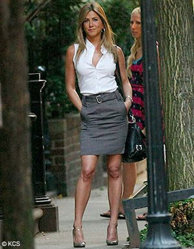 Jennifer Aniston : une working girl canon !