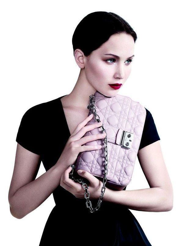 Jennifer Lawrence, sublime égérie Dior