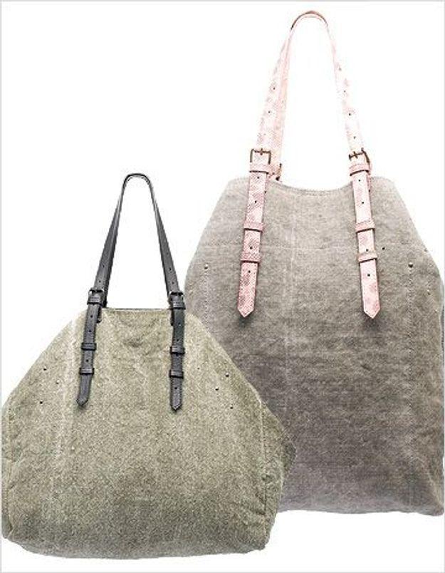 Jérôme Dreyfuss dévoile sa nouvelle ligne de sacs en lin et en cuir