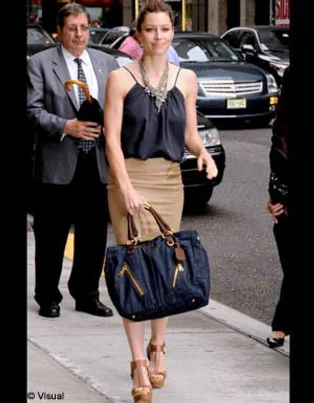 Jessica Biel, hypra-chic à New York
