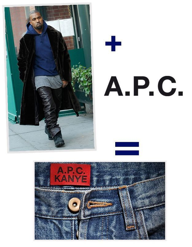 Kanye West pour A.P.C : nos pronostics sur la collection