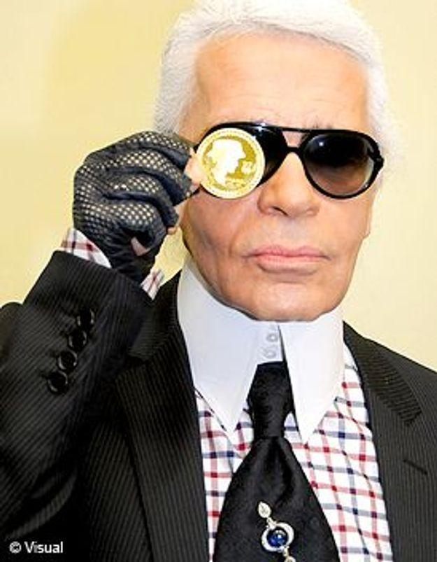 Karl Lagerfeld a encore frappé