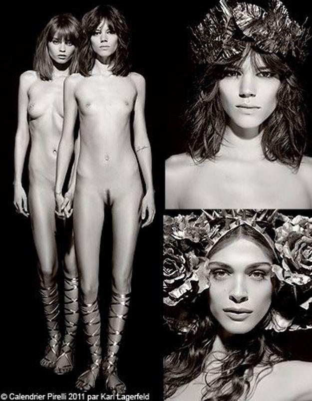 Karl Lagerfeld : les 1ères images de son calendrier Pirelli