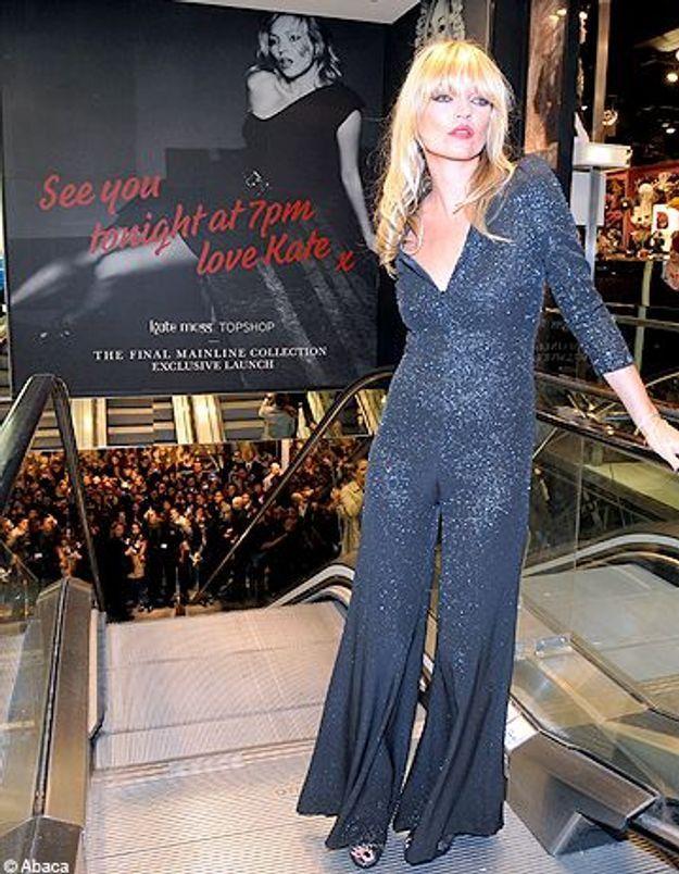 Kate Moss pour Topshop : une histoire sans fin ?