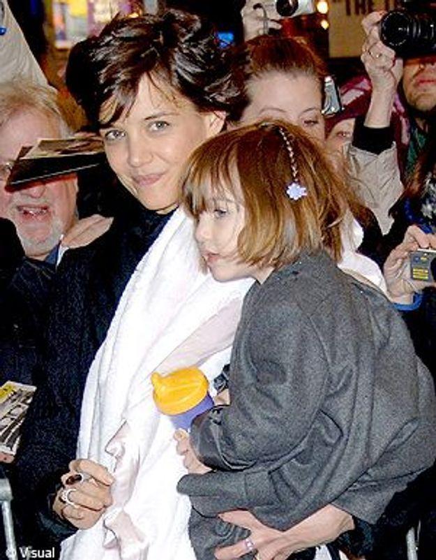 Katie Holmes se lance dans la mode pour enfants !