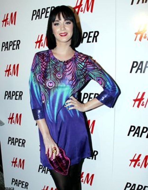 Katy Perry craque pour Matthew Williamson for H&M