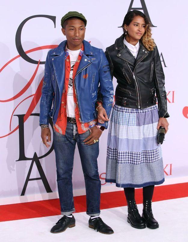 L'instant mode : le côté fashionista de Pharrell Williams aux CFDA Awards