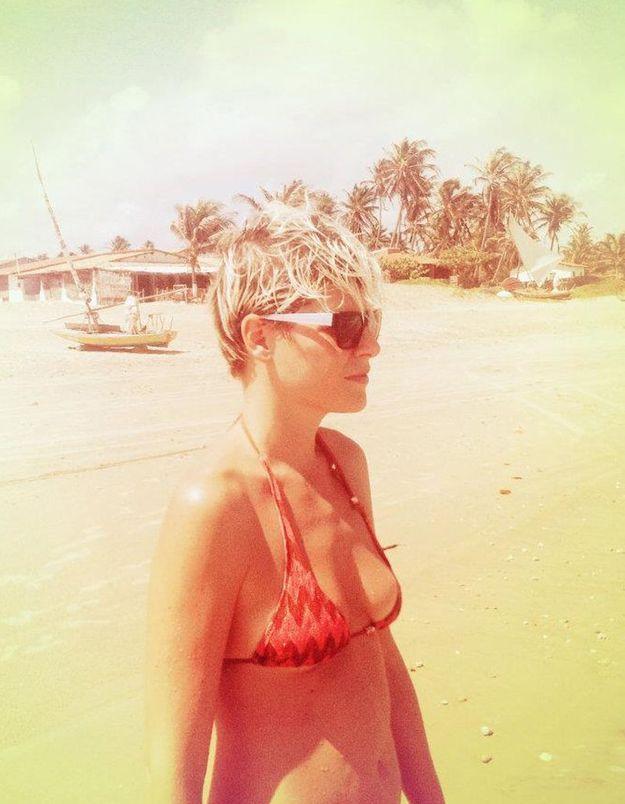 L'interview sous le parasol d'Elisa Nalin
