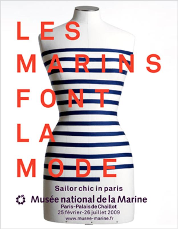La marinière rentre au musée
