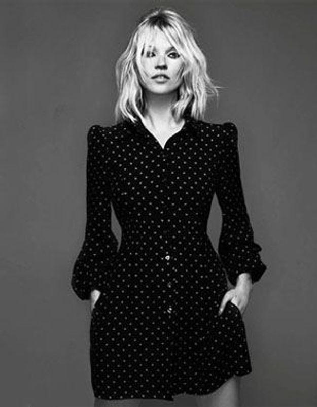 La petite robe noire de Kate Moss… Elue robe de l'année !