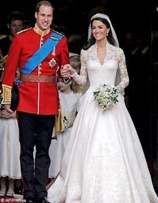 La robe de Kate Middleton exposée à Buckingham
