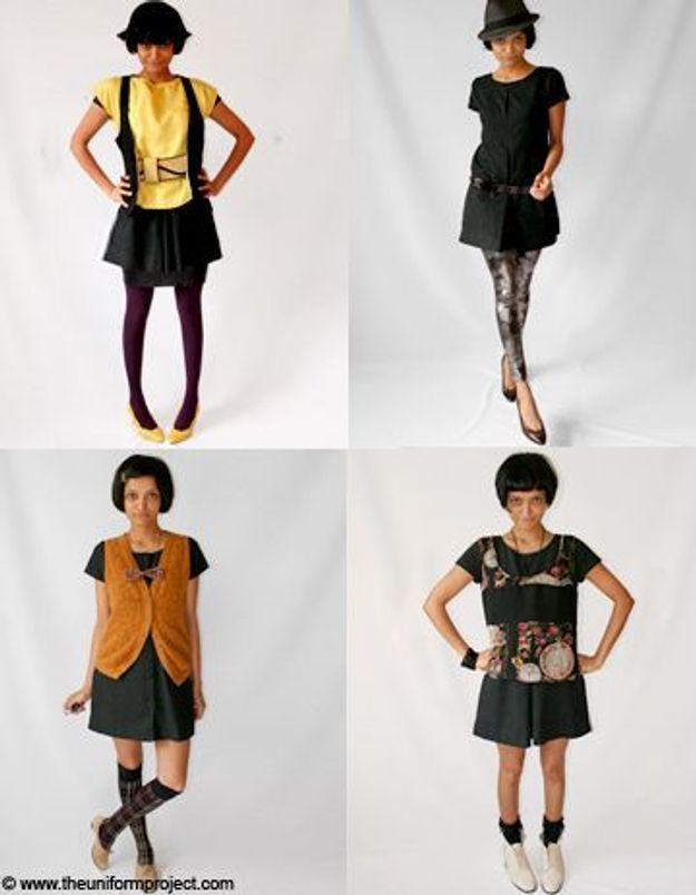 Le défi d'une bloggeuse : porter la même robe pendant un an !