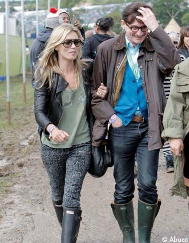 Le pantalon imprimé python de Kate Moss, nouvelle lubie fashion ?