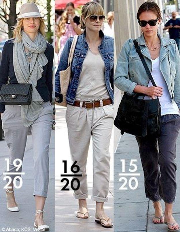 Le pantalon large : les people montrent l'exemple !