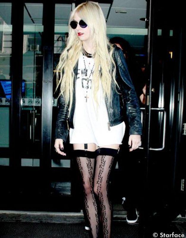 Le style hype et rock de Taylor Momsen