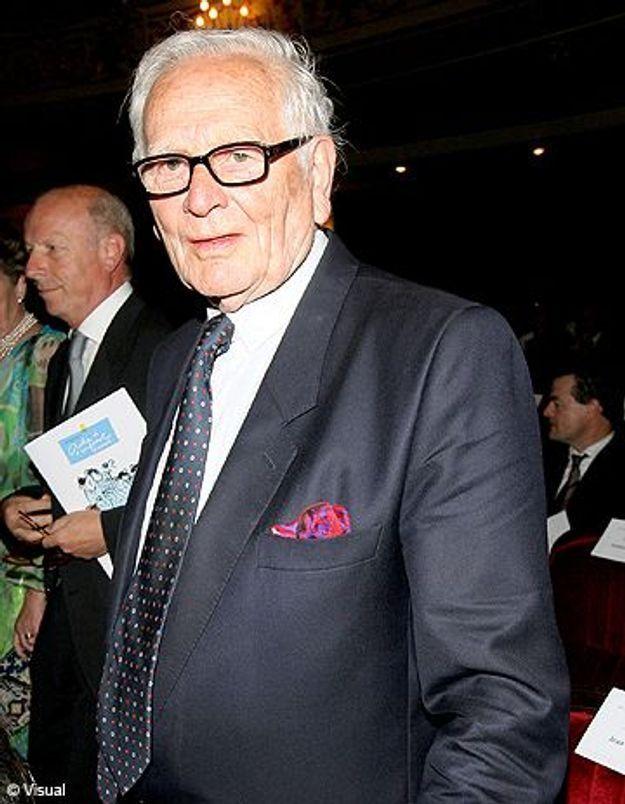 Le styliste Pierre Cardin, victime d'un malaise vagal