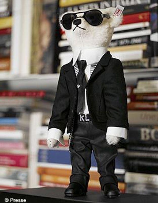 Le Teddy Bear de Karl Lagerfeld