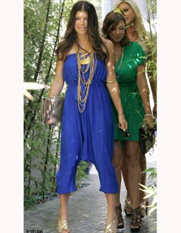 Leçon de mode : la combi-pantalon par Fergie