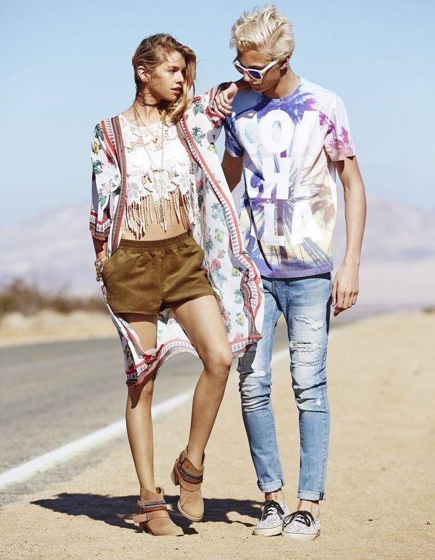 H&M Loves Coachella look 6 et 7