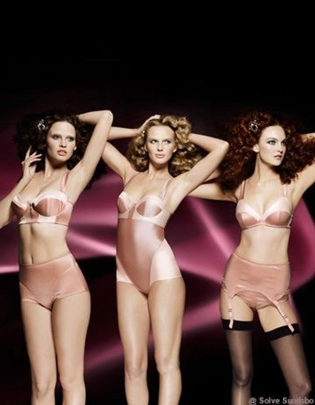 Les dessous glam et sexy de Sonia Rykiel sont chez H&M !