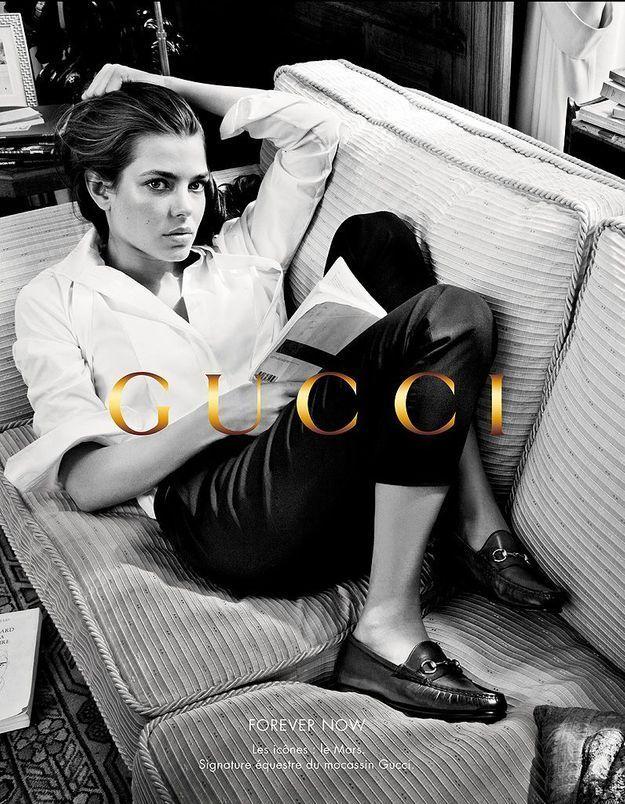 Les nouvelles images de Charlotte Casiraghi pour Gucci