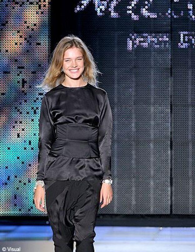 Les stars se pressent au défilé Natalia Vodianova pour Etam!